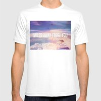 Miles Away From You Mens Fitted Tee White SMALL