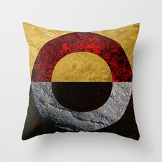 Abstract #155 Throw Pillow