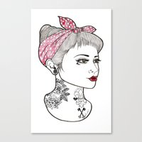 Nose Ring Canvas Print