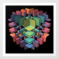 Together, Separately Art Print