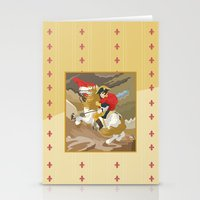 Napoleon Crossing The Al… Stationery Cards