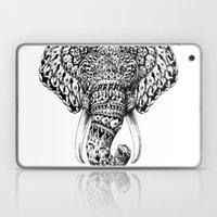 Ornate Elephant Head Laptop & iPad Skin