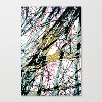 CRACKED CHINA Canvas Print