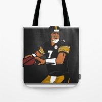Big Ben - Steelers QB Tote Bag