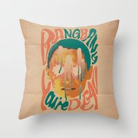 Bang Bang You're Dead Throw Pillow