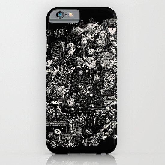 Spark-Eyed Oblivion Cascade Blues iPhone & iPod Case