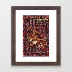 Labyrinths Framed Art Print