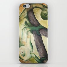 Chameleon Painting iPhone & iPod Skin