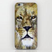 Title: Mesmerizing Lion … iPhone & iPod Skin