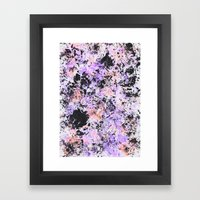 Paint texture Framed Art Print