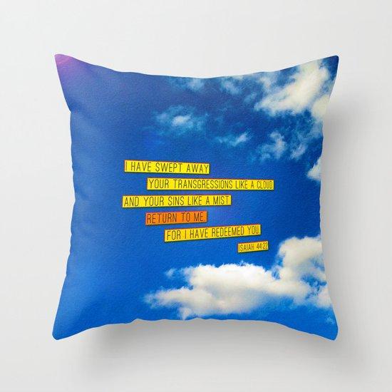 Return to Me Throw Pillow