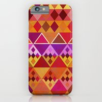 Fire Diamond Pattern iPhone 6 Slim Case