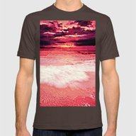 T-shirt featuring Sunset Beach by WhimsyRomance&Fun