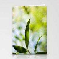 Bamboo Leaf Stationery Cards