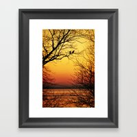 Sunrise Submission Framed Art Print