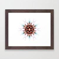 Snowcrystal 1 Framed Art Print