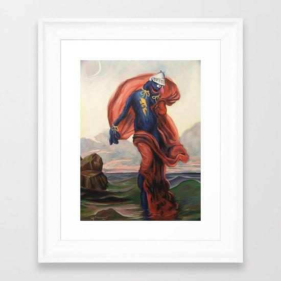 Super Evening Framed Art Print