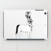 horses for courses I iPad Case