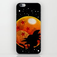 The Moon Child iPhone & iPod Skin
