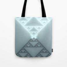 Triangles Glow Tote Bag