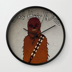bad hair day no:3 / Chewbacca  Wall Clock