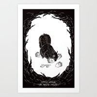 Little Acorns - The Whit… Art Print