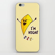 High As A Kite iPhone & iPod Skin
