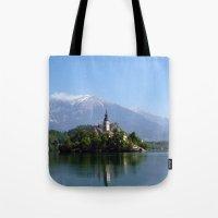 Lake Bled, Slovenia Tote Bag