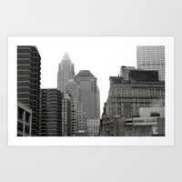 The Financial District Art Print