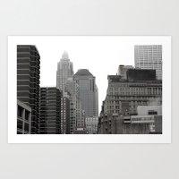 The Financial District Art Print
