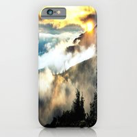 iPhone Cases featuring mountains by 2sweet4words Designs