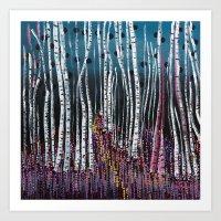 :: Pink Moss :: Art Print