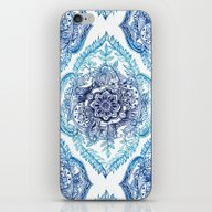 Indian Ink - In Blues iPhone & iPod Skin
