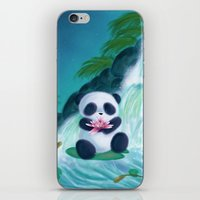 Panda Lilly iPhone & iPod Skin