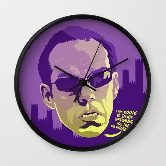 AGENT SMITH Wall Clock