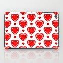 Valentine in White iPad Case