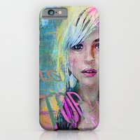 iPhone & iPod Case featuring bus stop girl  by Ganech joe