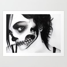 Death Mask Art Print