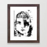 S/HE #3 Framed Art Print