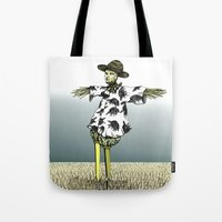 Crow Serie :: Scarecrow … Tote Bag