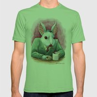 Count Fluffington, CPA Mens Fitted Tee Grass SMALL