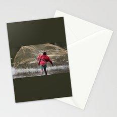 Net Fishing Stationery Cards
