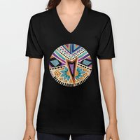 Tribal Folk Icon Unisex V-Neck