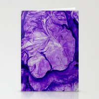 Purple Two Stationery Cards