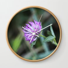 Sweet Clover Wall Clock