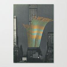 Urban Fiber Canvas Print