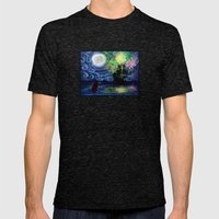 Part of That World Mens Fitted Tee Tri-Black SMALL