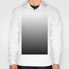 Black to White Gradient Hoody