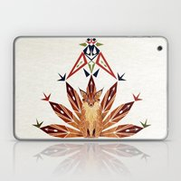 Fox with 7 tails Laptop & iPad Skin