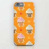 iPhone & iPod Case featuring ice cream and sun bath by Caracheng